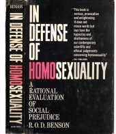 In Defense of Homosexuality