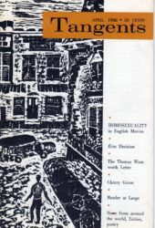 Recently added: Tangents, April 1966
