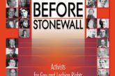 Before Stonewall is a book every scholar of our history should read