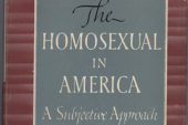 The Homosexual in America