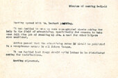 ONE Magazine business meeting, 03-21-53