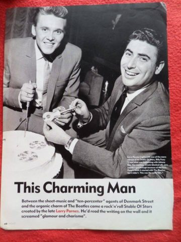 Billy Fury and Larry Parnes