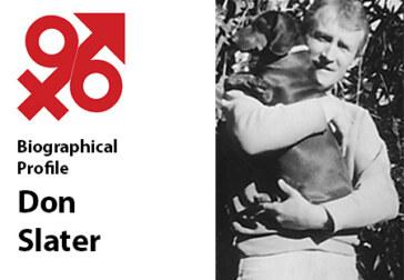 Pioneer Journalist Don Slater