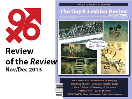 Gay lesbian review publication