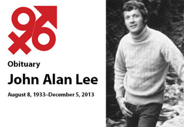 Remembering John Alan Lee