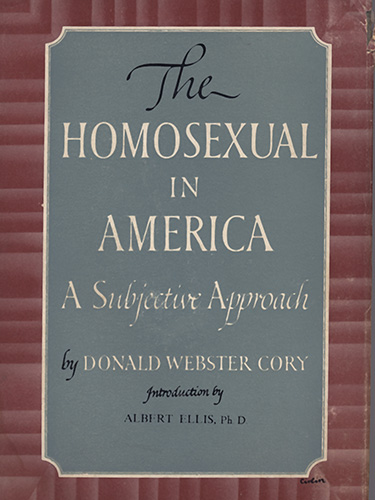 Homosexual groups in america
