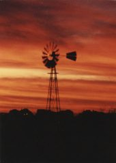 Windmill south of Lincoln