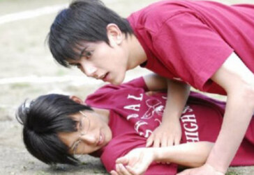 A hothouse romance in Japanese boarding school for boys