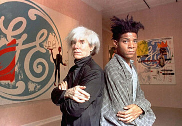 Andy Warhol, Jean-Michel Basquiat, Valerie Solanas, Julian Schnabel making the scene