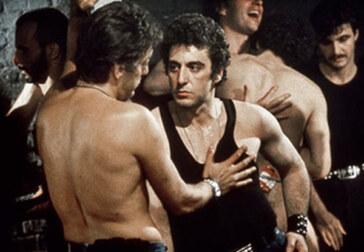 Al Pacino's overage, undercover cop in the Mineshaft