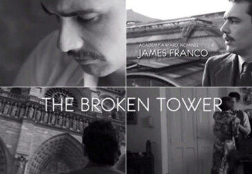 James Franco attempting to embody Hart Crane